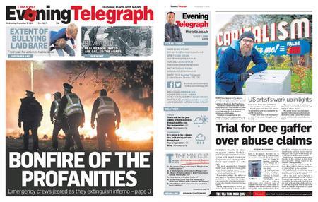Evening Telegraph First Edition – November 06, 2019