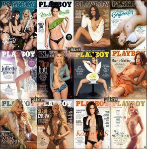 Playboy Germany - Full Year 2017 Issues Collection