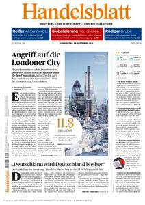 Handelsblatt - 08. September 2016