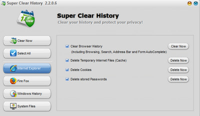 Super Clear History v2.2.0.6