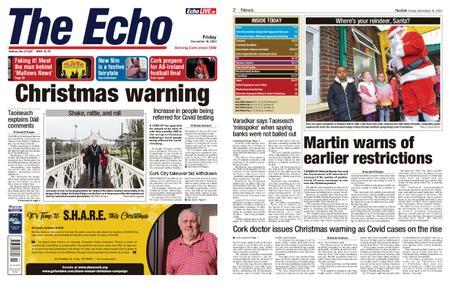 Evening Echo – December 18, 2020
