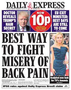 Daily Express - 3 February 2017