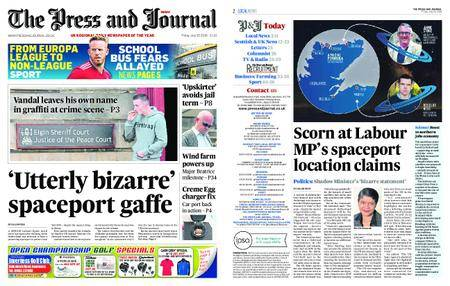 The Press and Journal Moray – July 20, 2018