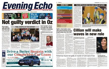 Evening Echo – February 15, 2019