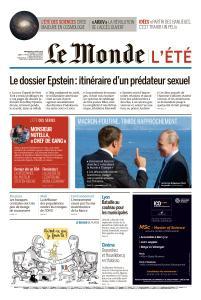 Le Monde du Mercredi 21 Août 2019