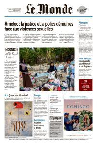 Le Monde du Dimanche 7 et Lundi 8 Octobre 2018