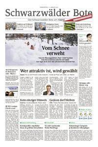 Schwarzwälder Bote Oberndorf - 11. Januar 2018