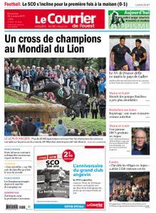 Le Courrier de l'Ouest Nord Anjou – 20 octobre 2019