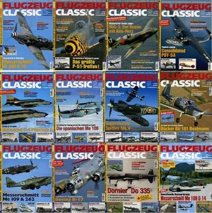 Flugzeug Classic - Full Year 2008 Issues Collection