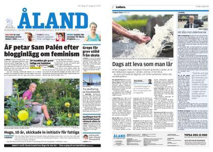 Ålandstidningen – 22 augusti 2019