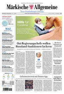 Neue Oranienburger Zeitung - 30. Januar 2018