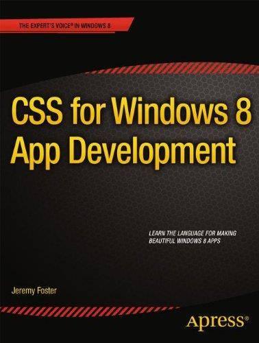 CSS for Windows 8 App Development (Repost)