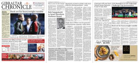Gibraltar Chronicle – 27 March 2021