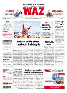 WAZ Westdeutsche Allgemeine Zeitung Oberhausen-Sterkrade - 17. Mai 2018