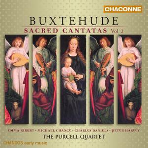 Emma Kirkby, Michael Chance, Charles Daniels, Peter Harvey, The Purcell Quartet - Buxtehude: Sacred Cantatas Vol.2 (2005)
