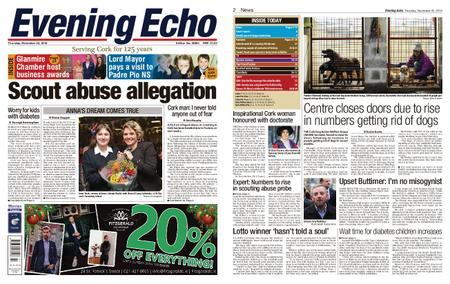 Evening Echo – November 22, 2018