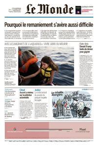 Le Monde du Jeudi 11 Octobre 2018
