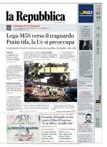 la Repubblica - 18 Maggio 2018