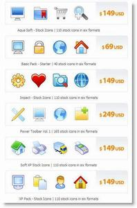 6 Icons Packs From fasticon.com