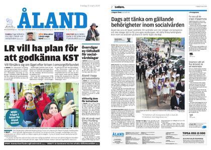 Ålandstidningen – 15 mars 2019