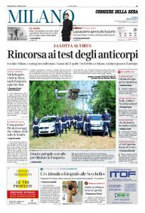 Corriere della Sera Milano – 14 aprile 2020