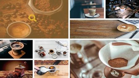 Responsive Coffee Shop Website with CSS3 GRID and Javascript