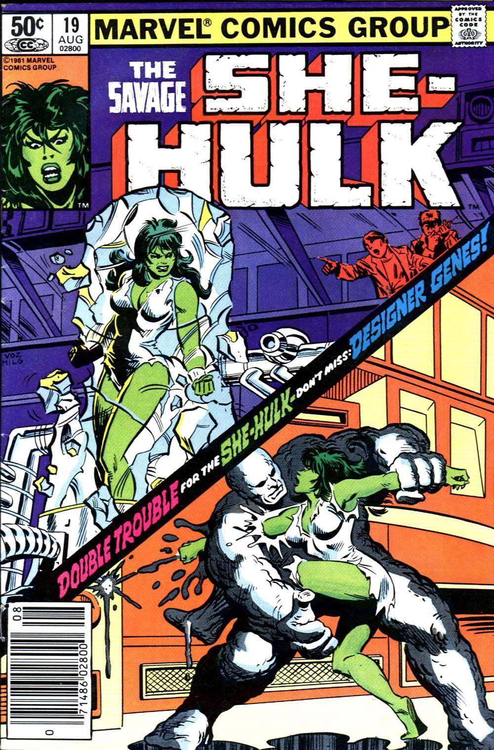 She Hulk Fills for Jasman [19 of 61] She Hulk [1981 08] The Savage She Hulk 019 cbr