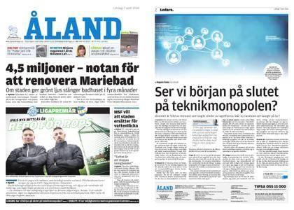 Ålandstidningen – 07 april 2018