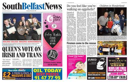 South Belfast News – December 13, 2018