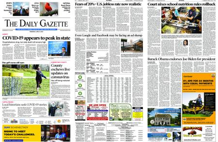 The Daily Gazette – April 15, 2020