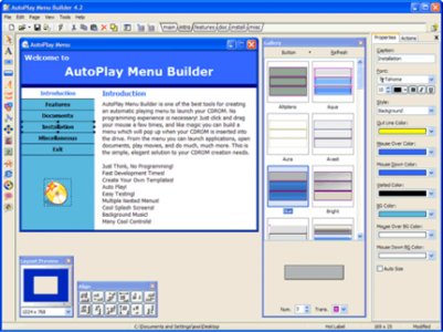 AutoPlay Menu Builder 6.1 Build 1916 Portable