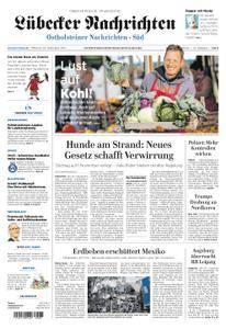 Lübecker Nachrichten Ostholstein Süd - 20. September 2017