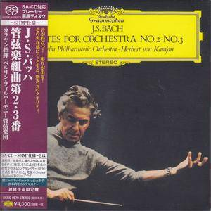 Herbert von Karajan, Berlin Philharmonic Orchestra - Bach: Orchestra Suites Nos. 2 & 3 (1964) [Japan 2014] PS3 ISO + FLAC