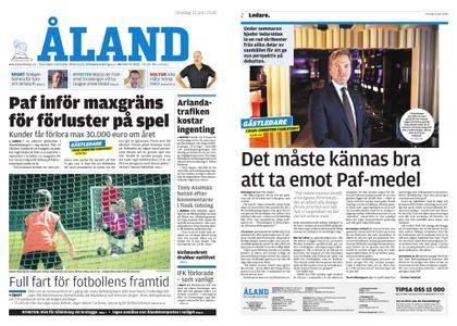 Ålandstidningen – 13 juni 2018