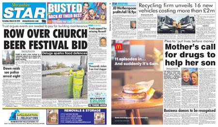 Shropshire Star Shrewsbury Edition – March 16, 2019
