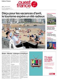 Ouest-France Édition France – 02 avril 2021