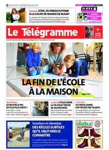 Le Télégramme Ouest Cornouaille – 26 octobre 2020