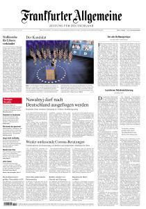 Frankfurter Allgemeine Zeitung - 22 August 2020
