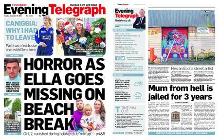 Evening Telegraph First Edition – November 27, 2018