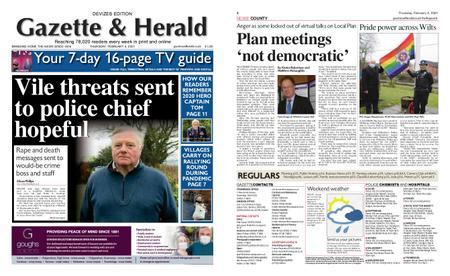 Gazette & Herald – February 04, 2021