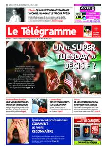 Le Télégramme Ouest Cornouaille – 02 mars 2020