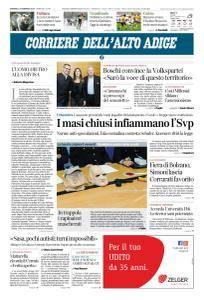 Corriere dell'Alto Adige - 4 Febbraio 2018