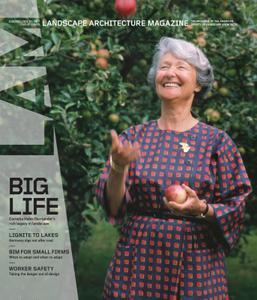 Landscape Architecture Magazine USA - July 2021