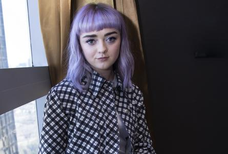 Maisie Williams - Game of Thrones Season 8 Press Conference in New York on April 4, 2019