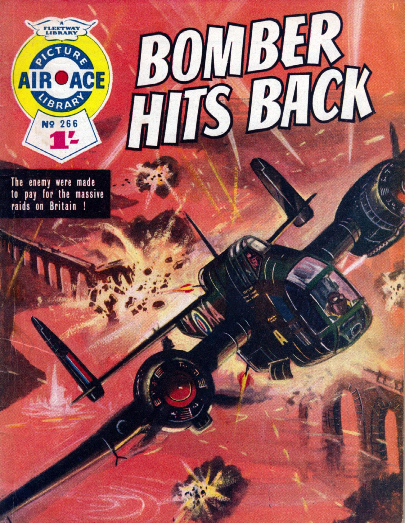 Air Ace Picture Library 266 - Bomber Hits Back [1965] (Mr Tweedy