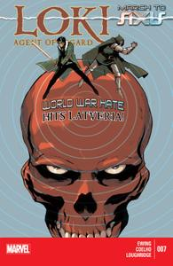 AXIS series 5667 012 Loki-Agent of Asgard 007 2014 Digital Zone