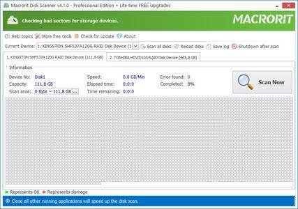 Macrorit Disk Scanner 4.1.1 (All Editions) + Portable
