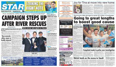 Shropshire Star Shrewsbury Edition – February 26, 2018
