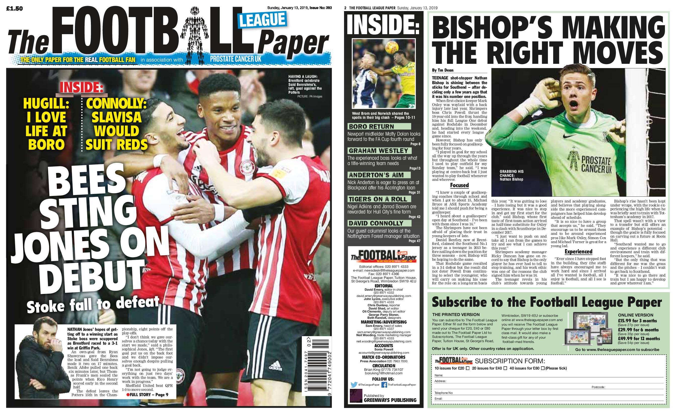 The Football League Paper – January 13, 2019