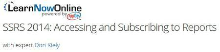 LearnNowOnline - SSRS 2014: Accessing and Subscribing to Reports